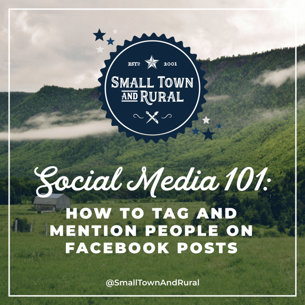 Social Media 101: How To Tag And Mention People On Facebook
