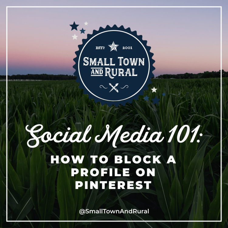 Social Media 101: How To Block Profile On Pinterest
