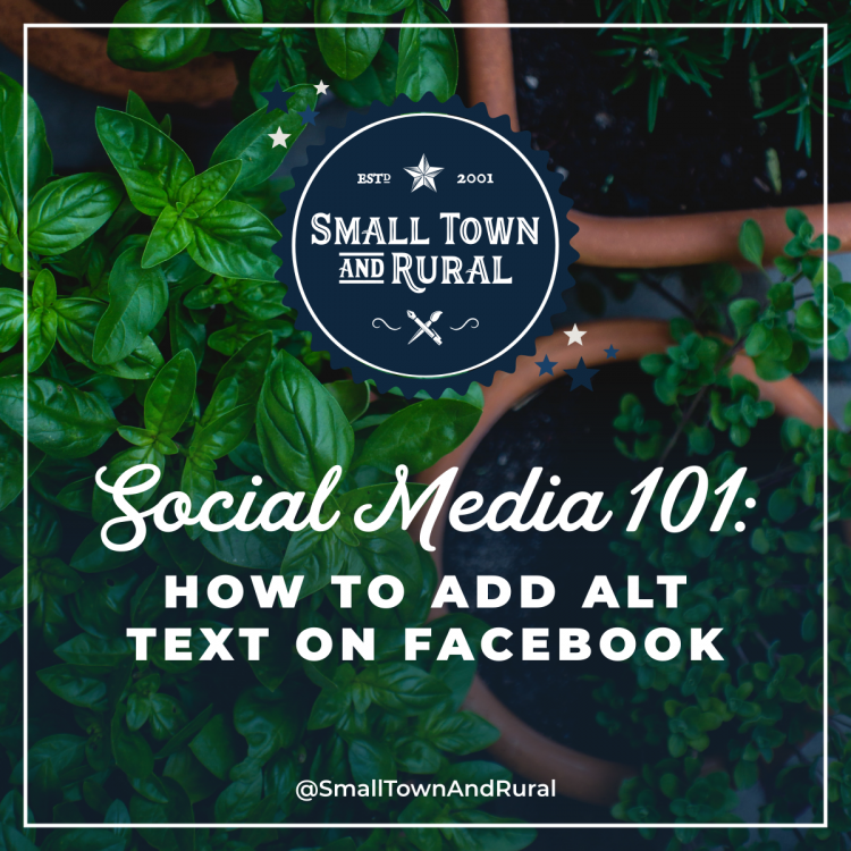 Social Media 101: How To Add Alt Text On Facebook