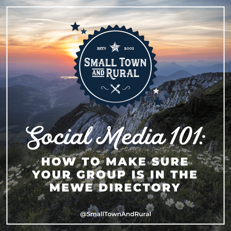 Social Media 101: How To Make Sure Your Group Is In The MeWe Directory