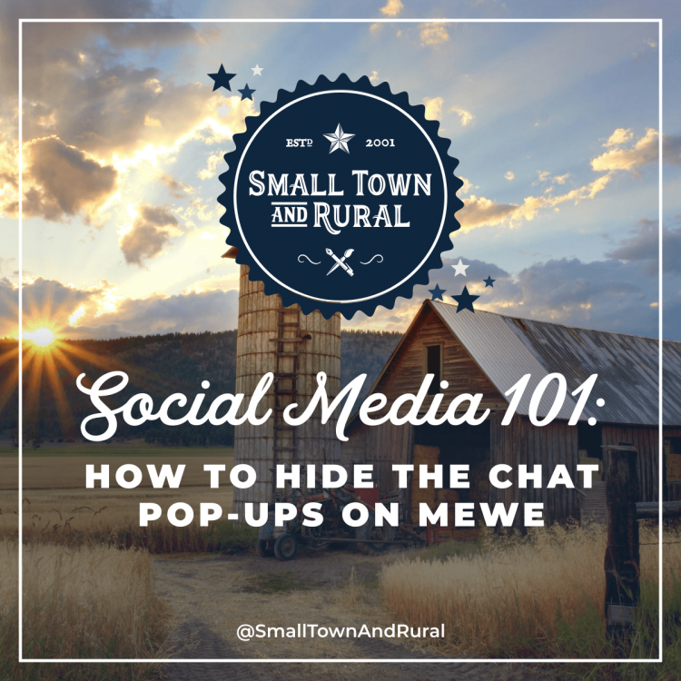 Social Media 101: How To Hide The Chat Pop-Ups On MeWe