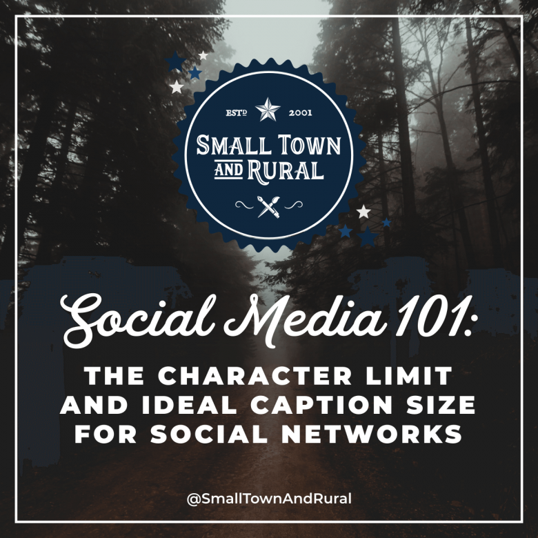 Social Media 101: The Character Limit And Ideal Caption Size For Social Networks